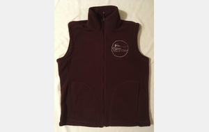 Gilet polaire H/F - broderie